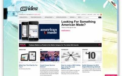 ANidea – spousta obsahu, přehlednost zachována