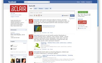 DuCLAIR je na Facebooku!