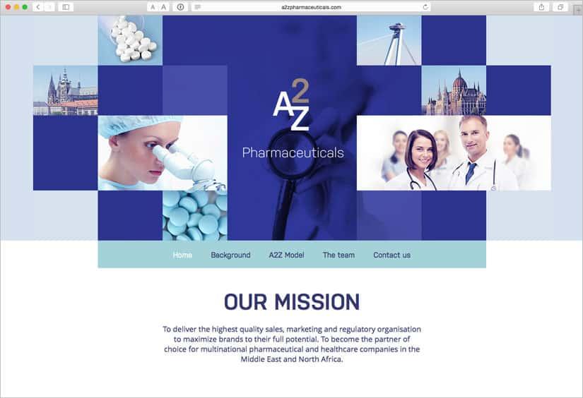 Webové stránky pro A2Z