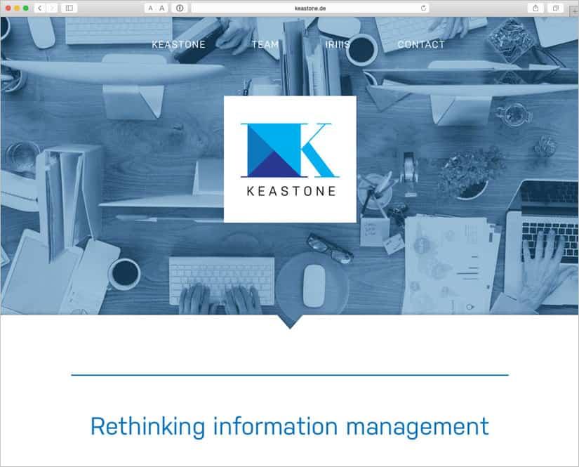 Keastone - homepage