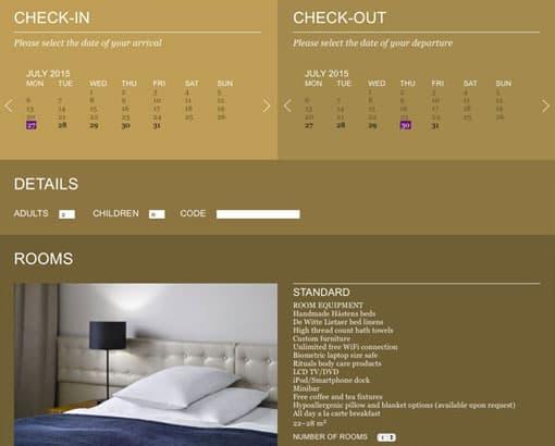 ICON - booking module