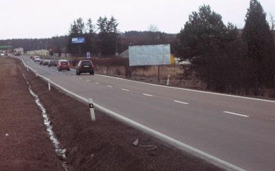 Billboardová plocha kpronájmu – Plzeň